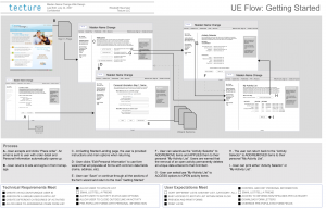 User and dev flow documents connect the dots for Tecture clients.